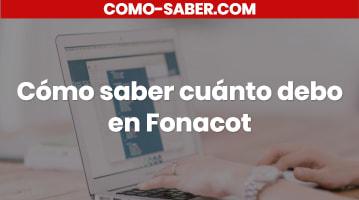 Cómo saber cuánto debo en Fonacot