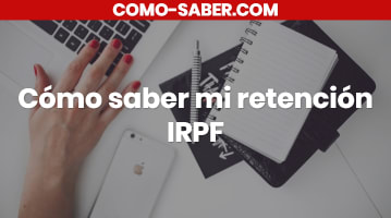 Cómo saber mi retención IRPF