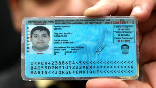 para qué sirve el Registro Nacional de Identificación y Estado Civil