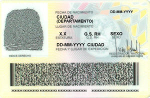 cedula colombia