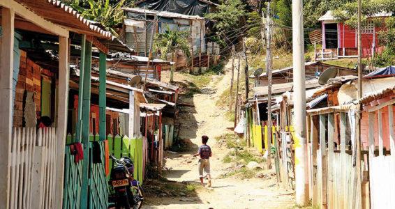 colombia en pobreza