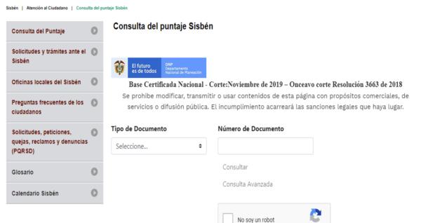 ⊛ ¿Cómo saber el puntaje del SISBEN ?en colombia【2020 】