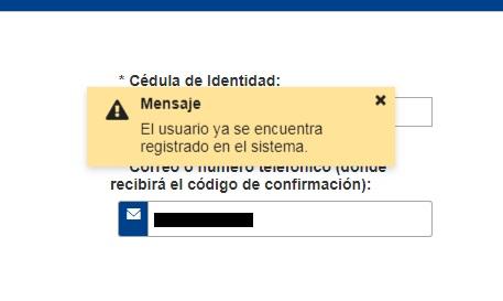 Cómo saber si estoy registrado en SAIME