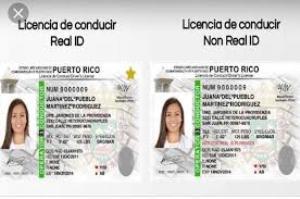 Licencia de conducir real Id
