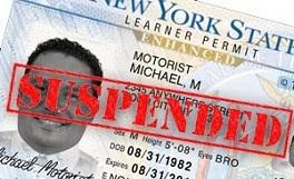 licencia suspendida