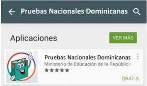 app pruebas nacionales dominicanas