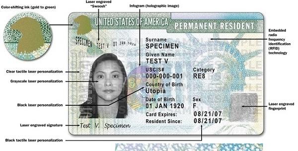 green card como saber