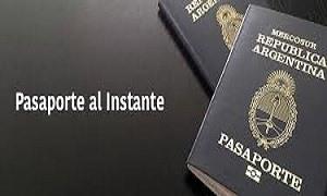 pasaporte al instante
