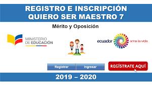 programa quiero ser maestro 2019-2020