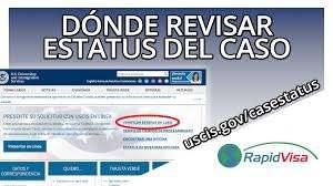 revisar el estatus de mi visa en el centro nacional de visas