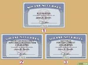tipo de tarjetas del seguro social