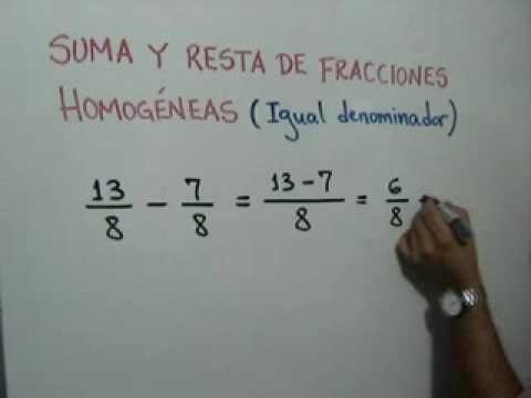 Cómo saber cuál fracción es mayor con el mismo denominador