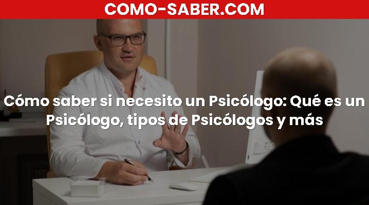 Cómo saber si necesito un Psicólogo